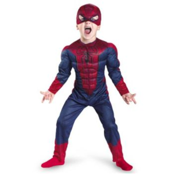The Amazing Spider-Man Muscle Chest Child Costume