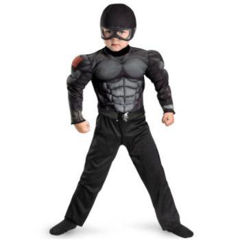 G.I. Joe Retaliation Snake Eyes Muscle Chest Child Costume