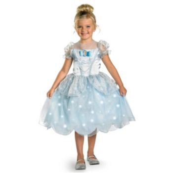Disney Cinderella Deluxe Light Up Toddler Costume