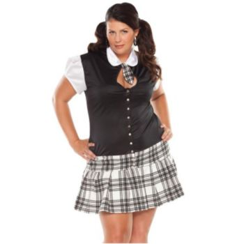 Night School Girl Plus Adult Costume