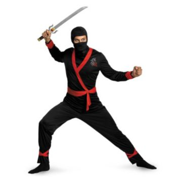 Ninja Master Adult Plus Costume