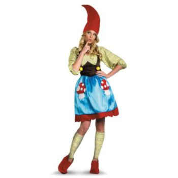 Ms. Gnome Adult Plus Costume