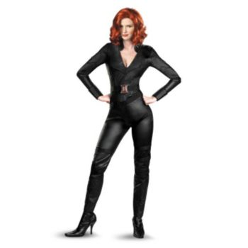 The Avengers Black Widow Adult Plus Costume