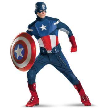 The Avengers Captain America Elite Adult Costume