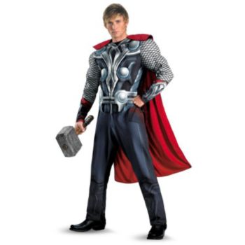 The Avengers Thor Muscle Plus Adult Costume