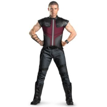 The Avengers Hawkeye Deluxe Adult Costume