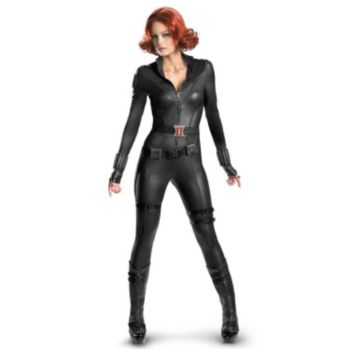 The Avengers Black Widow Elite Plus Adult Costume