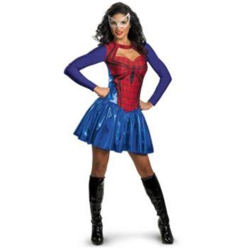 Spider - Girl Plus Adult Costume