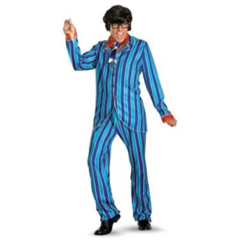 Austin Powers Carnaby Suit Deluxe Adult Costume