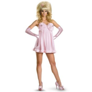 Austin Powers Sexy Fembot Deluxe Plus Adult Costume