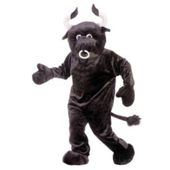 Bull Deluxe Mascot Adult Costume