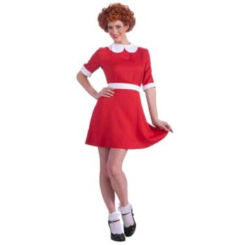 Annie Adult Costume