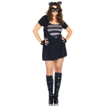 Risky Raccoon Adult Plus Costume