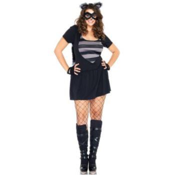 Risky Raccoon Adult Plus Costume
