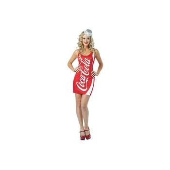 Coca-Cola - Coke Tank Dress Adult Costume