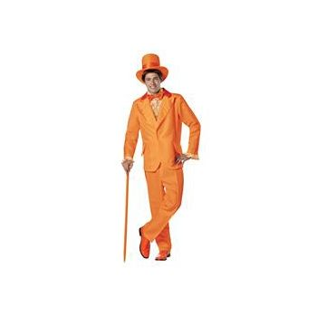 Dumb and Dumber Lloyd Orange Tuxedo Adult Costume