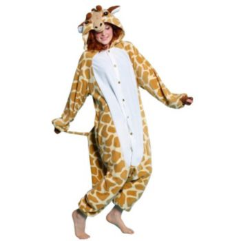 Plush Giraffe Adult Costume