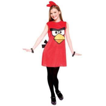Angry Birds Red Bird Dress Tween Costume