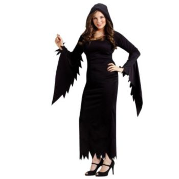 Hooded Gown Adult Plus Costume