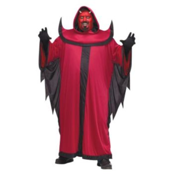 Prince of Darkness Devil Adult Plus Costume