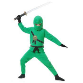 Green Ninja  Toddler Costume (OOS)