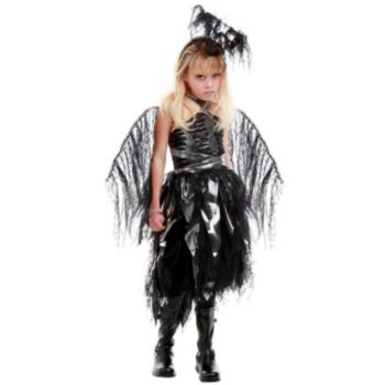 Naphil Dark Angel Tween Costume