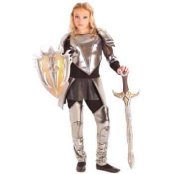 Warrior Snow Tween Costume