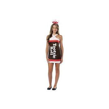 Tootsie Roll Teardrop Dress Teen Costume