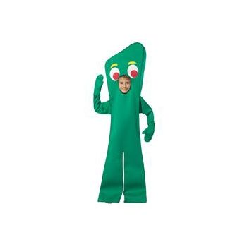 Gumby Open Face Child Costume