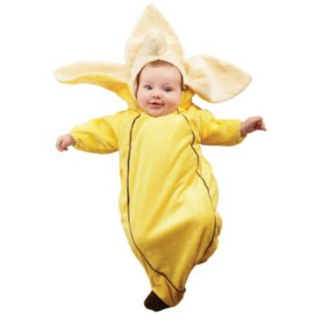 Banana Bunting  Infant Costume