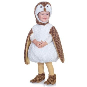 White Barn Owl Child Costume