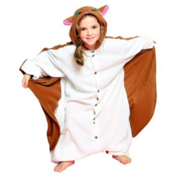 Flying Squirrel Child Costume