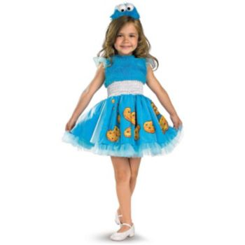 Sesame Street - Frilly Cookie Monster Toddler  Child Costume