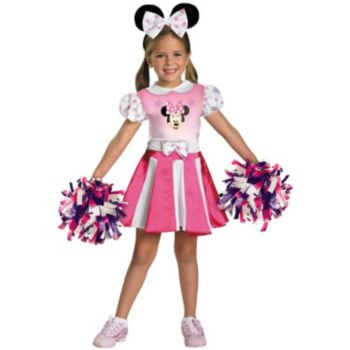 Mickey Mouse Clubhouse - Minnie Mouse Cheerleader Toddler  Child Costume