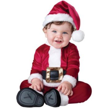 Baby Santa Infant  Toddler Costume