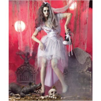 Zombie Bride Adult Costume
