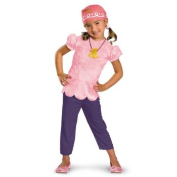 Disney Jake And The Neverland Pirates Izzy Classic Toddler Costume
