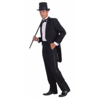 Vintage Hollywood Man's Tuxedo Adult Costume