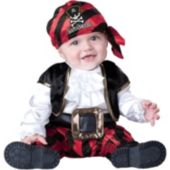 Cap'N Stinker Pirate Infant  Toddler Costume