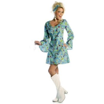 Go Go Blue Adult Costume