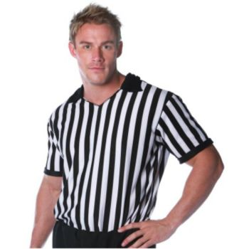 Referee Shirt Adult Costume