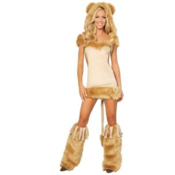 Courageous Lioness Adult Costume