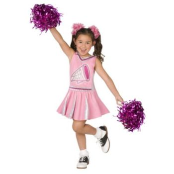 Pink Cheerleader Child Costume