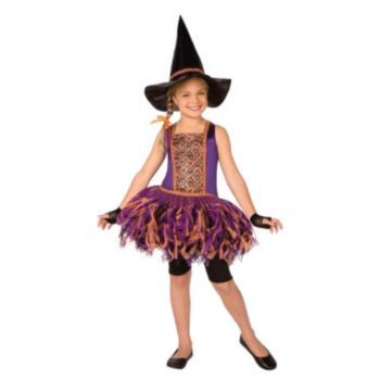 Skull Witch Shreddy Child Costume