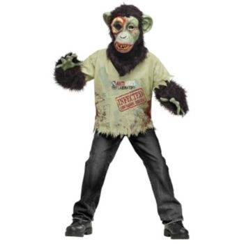 Zombie Chimp Child Costume