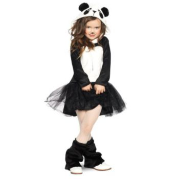 Precious Panda Toddler Costume