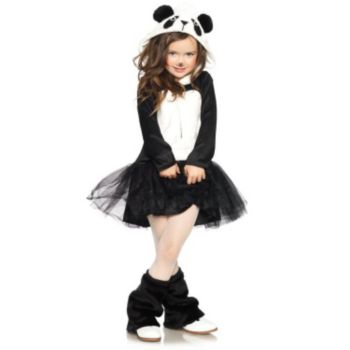 Pretty Panda Child Costume