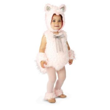 Pink Shaggy Kitty Infant  Toddler Costume