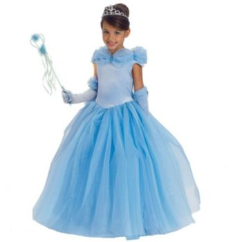 Blue Princess Cynthia Child Costume