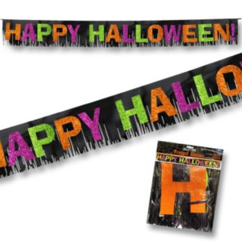 Happy Halloween  Fringed Banner